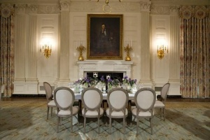 Before White House Dining Room