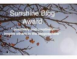 sunshine award 1