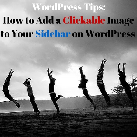 Add a Clickable Image to Your Sidebar on WordPress
