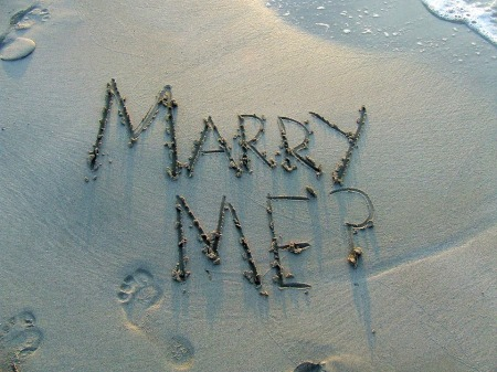 marry me in writing